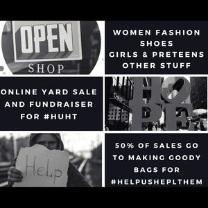 🆘HELP ME HELP OTHERS🆘💙💗SHOP FOR A CAUSE💚💜